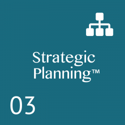 AProven Planning System that provides: Clear,executable strategies; Meeting rhythms and agendas; Alignment; Accountability; Communication; Results; 1 – 2 Day Workshop.